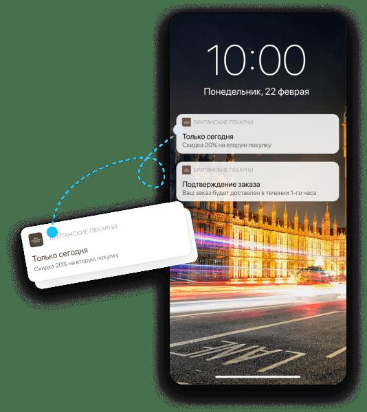 Интерактивные Push-уведомления